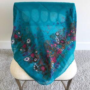 Soft Flower scarf!